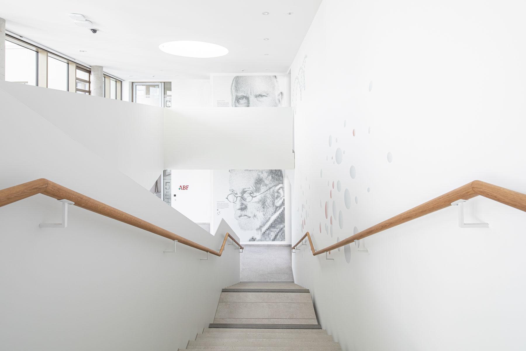 Gestaltung der Treppenhalle