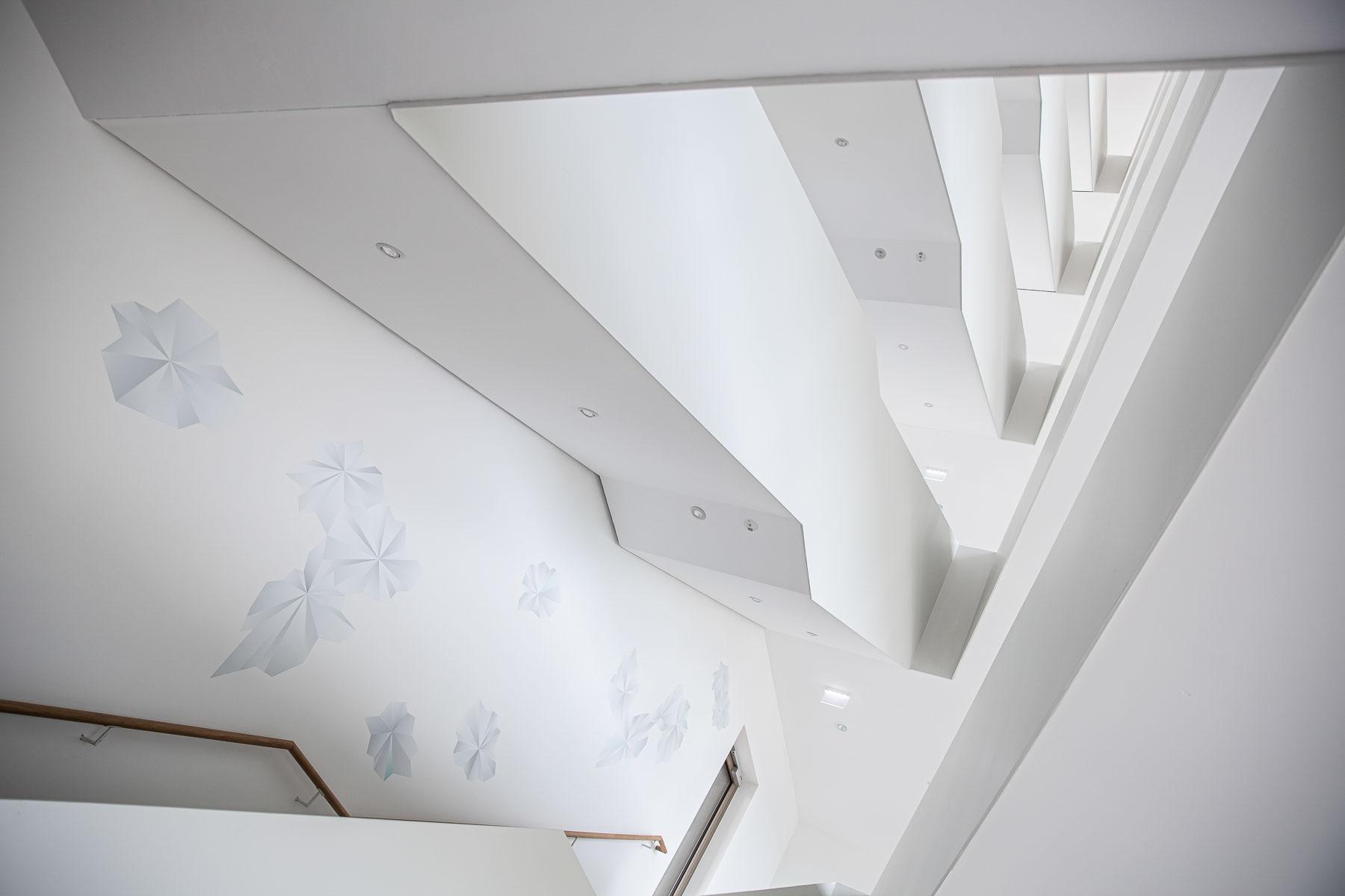 Blick durch die Treppenhalle